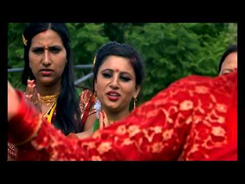 Larkaudai rato fariya Nepali Teej Song Music Video