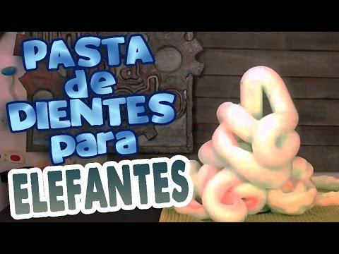 Pasta de dientes para elefantes - (Remake)