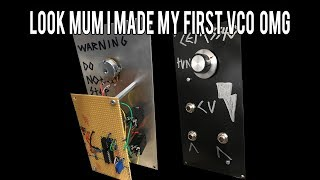 Synth Voltage Controlled Oscillator 1v/oct tracked DIY how to.