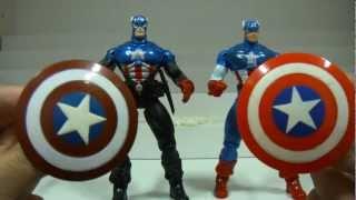 Captain America Bucky CUSTOM ToyBiz 5 Polegadas Pré