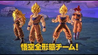 Dragon Ball Z: Battle Of Z Full Character Roster