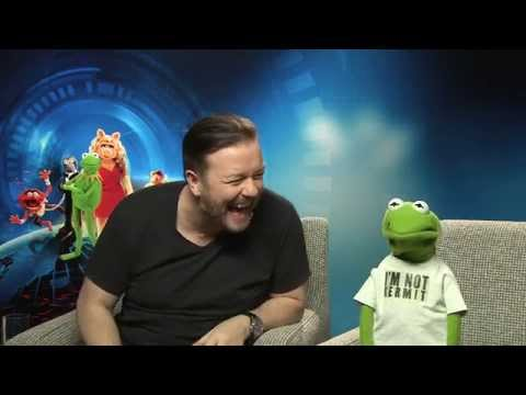 Ricky Gervais: Why would I look at Constantine's nether regions? - Muppets 2014 interview