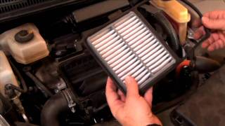 How To Install A Toyota Prius Air Filter 2004-2009