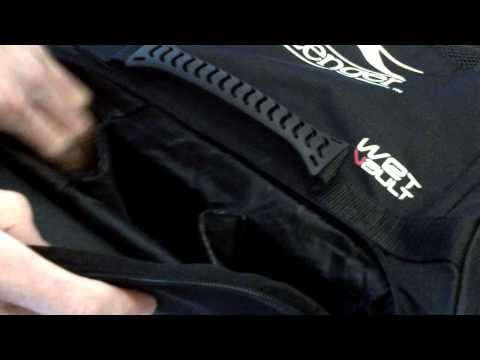 Slazenger V1200 Stand Up Wheelie Cricket Bag