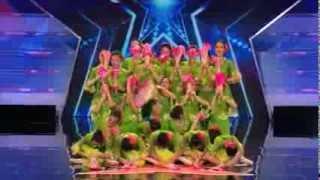 Jasmine Flower Group Audition (America's Got Talent 2014