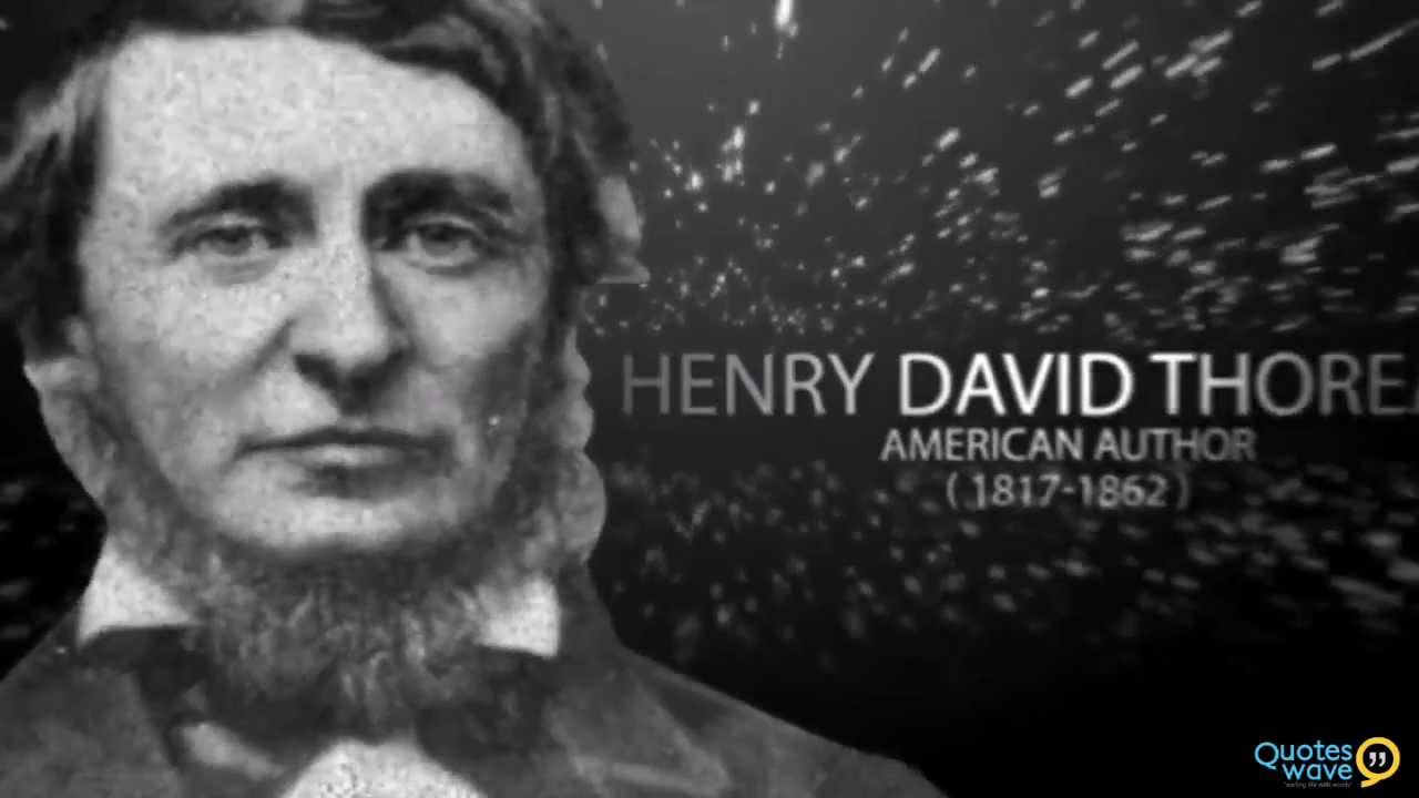 the conformist the individual and the works of henry david thoreau 2018-05-28  rawls's theory has the merit of explaining why civil disobedience works  the theory and practice of civil disobedience holds that an individual  in a famous essay entitled civil disobedience, henry david thoreau.