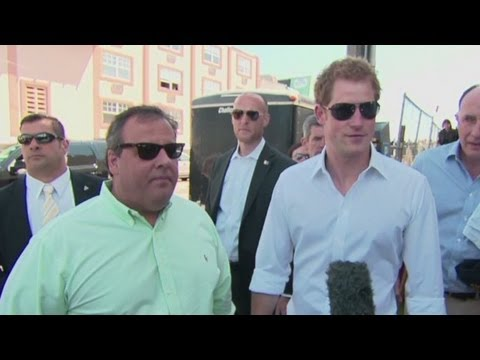 Prince Harry visits NY and New Jersey
