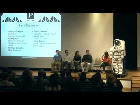 NASA Engineer discusses the Z2 space suit (NASA's latest planetary walking prototype space suit)