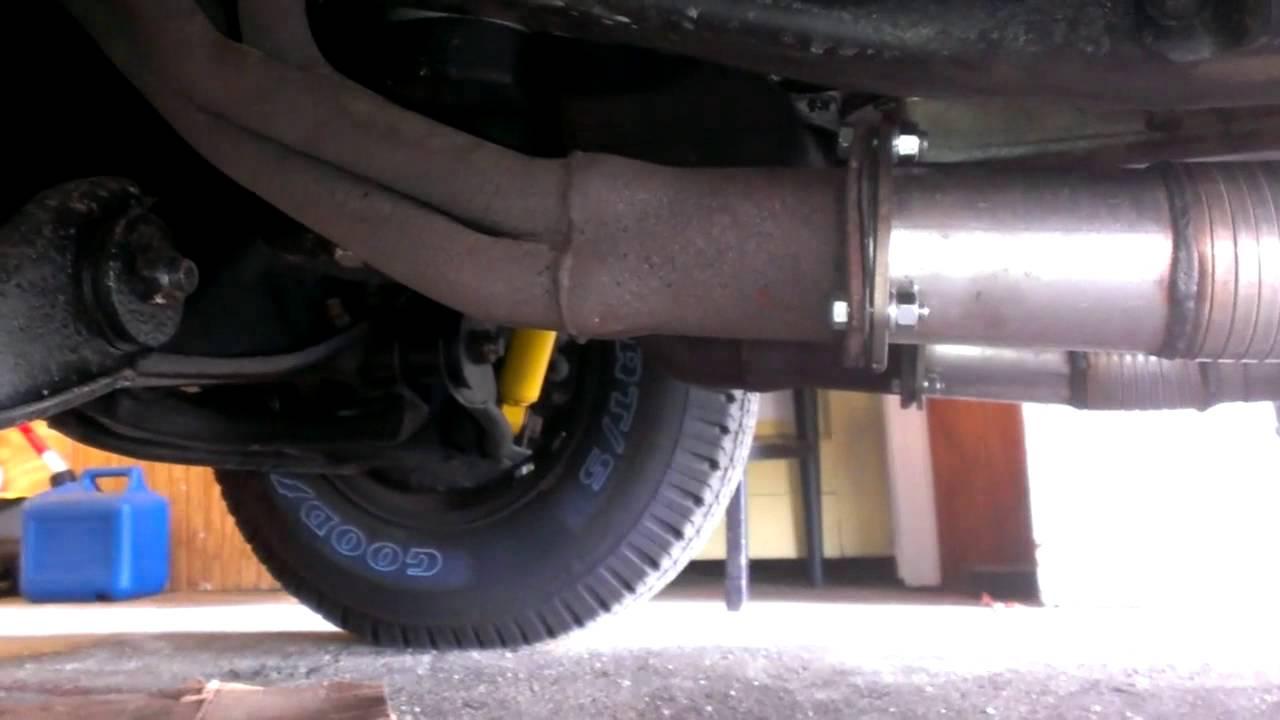 1986 Chevy C10 Exhaust 350sbc 650cfm Jegs 3 Quot Exhaust