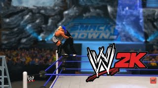 WWE 2K14 Jeff Hardy Vs Rob Van Dam RVD TLC Match Hctp