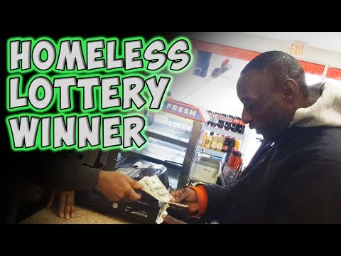 Homeless Lottery Winner