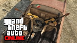 GTA 5 Online How To Get The Mariachi Car