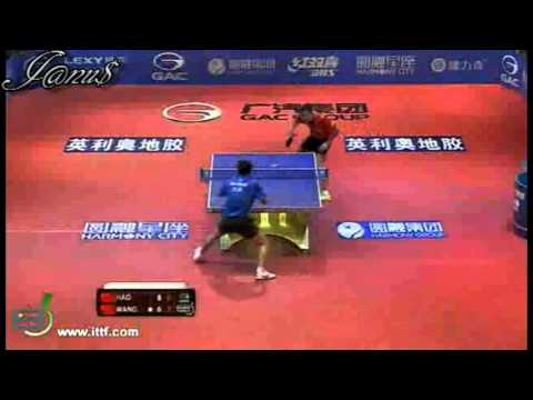 2012 China Harmony Open (ms-f) HAO Shuai - WANG Liqin [Full Match|Short Form]