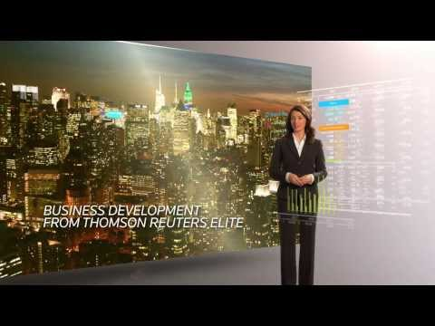 Business Development from Thomson Reuters Elite