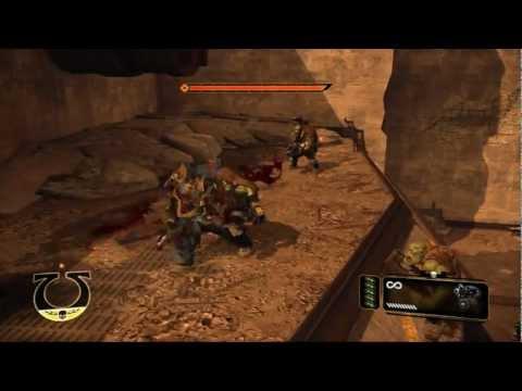 Warhammer 40.000: Space Marine - Геймплей