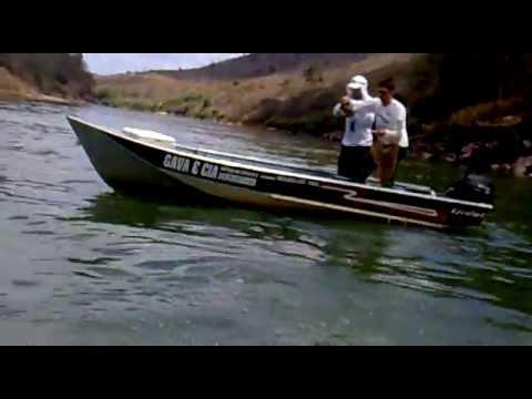 pescaria de dourado 13,3kg rio doce colatina es (Gava & Cia)