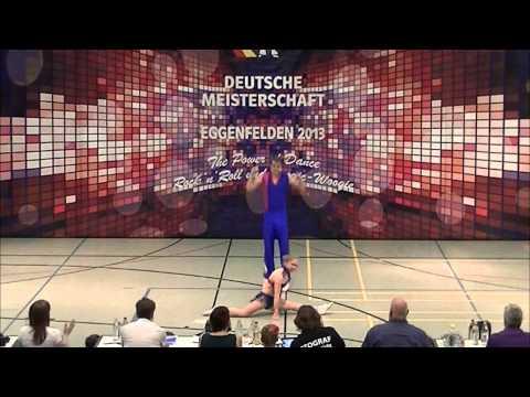 Jana-Simone Scheffler & Tobias Neumann - Deutsche Meisterschaft 2013