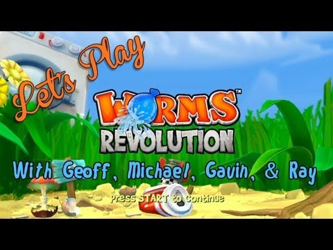 Let's Play - Worms Revolution