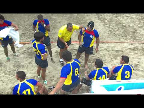 Manta 2011: Rugby Playa : Ecuador vs. Brasil