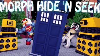 Minecraft Mods MORPH HIDE AND SEEK Doctor Who Mod