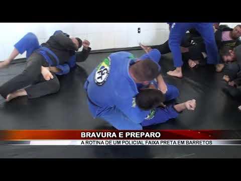 08/12/2018 - Policial Militar do Canil do 33º BPMI conquista faixa preta de Jiu-jitsu