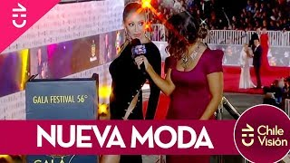 Famosas  sin ropa interior en Festival Viña 2015