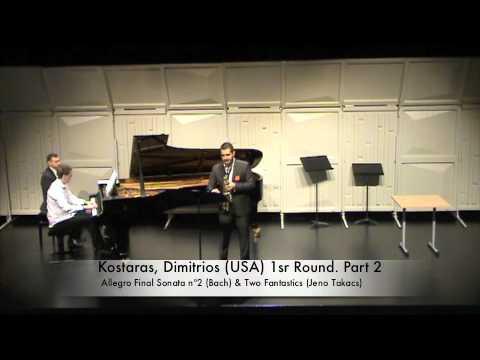 Kostaras, Dimitrios USA 1sr Round Part 2