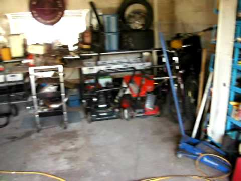 My toybox 3 car garage man cave in cocoa for Single car garage man cave