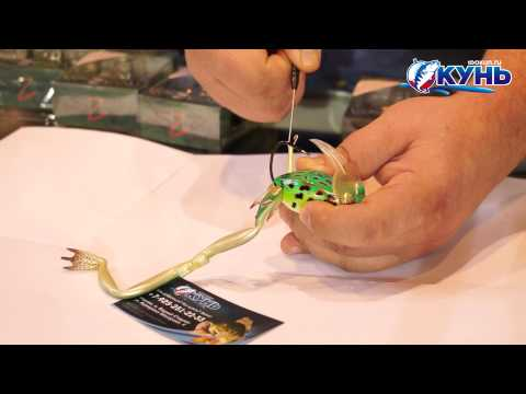 Лягушка River2Sea Diver Frog. Инструкция продевания лапок.