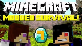 Minecraft: Modded Survival Let's Play - Episode 7: Christmas Time Begins