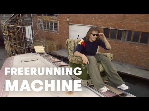 Human-powered Freerunning Machine