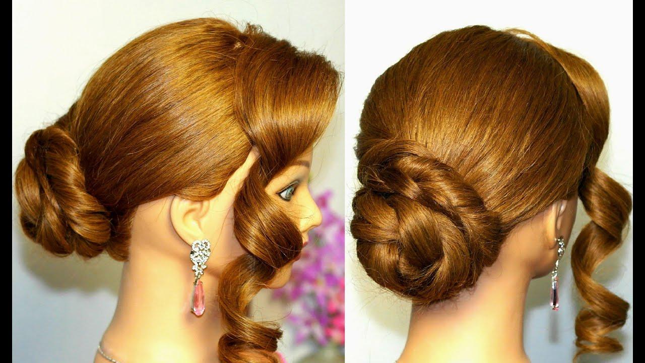Причёски для полудлиных волос