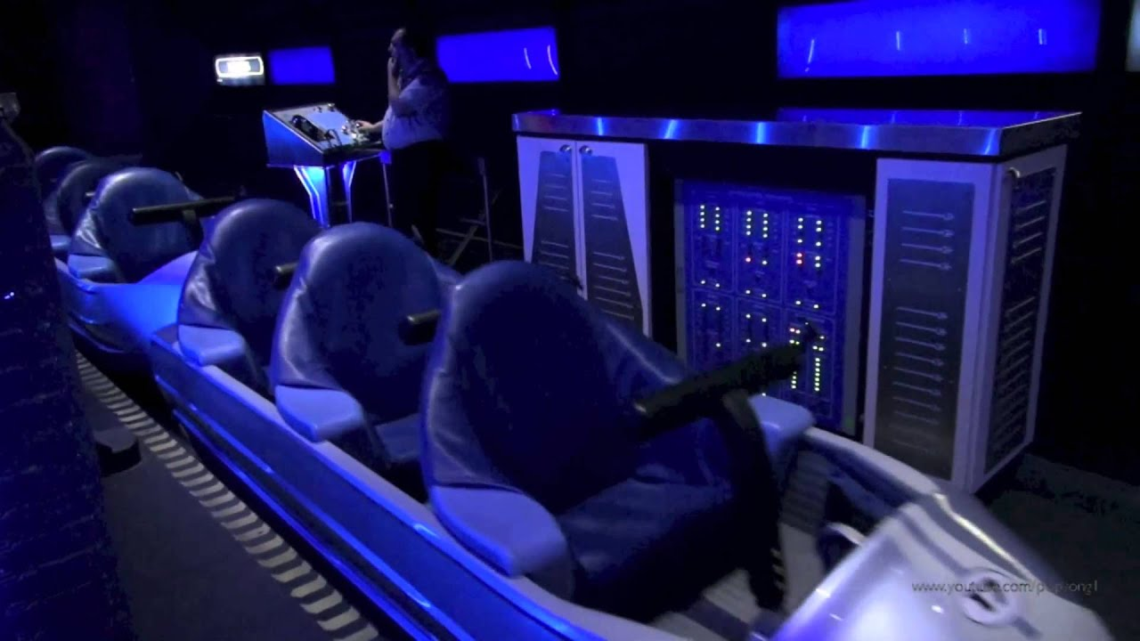 Space Mountain Front Row Nightvision Hd Magic Kingdom Walt