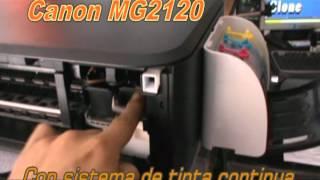 Canon MG2120 Con Sistema De Tinta Invisible