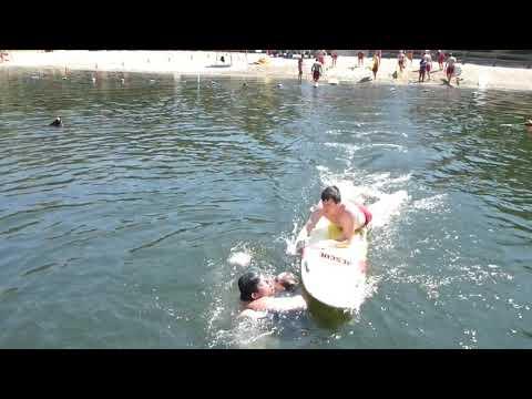 Lifeguarding Drill: RSQ BRD, Team Rescue,