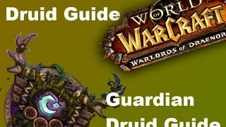 Warlords Of Draenor Alpha: Guardian Druid Guide