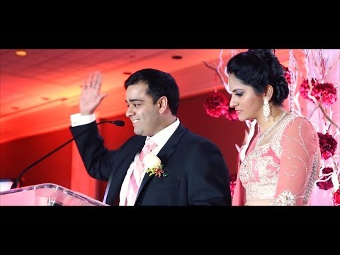 Team Work -  Groom's Speech at the Reception | Videogenic