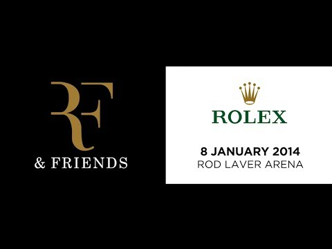 LIVE! - A night with Roger Federer and Friends.