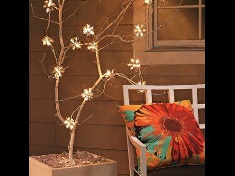 Декоративное дерево из веток