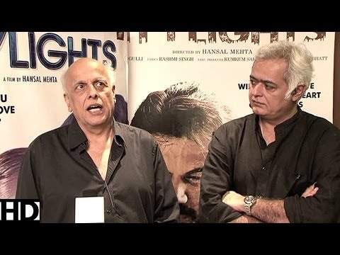Mahesh Bhatt - Hansal Mehta Exclusive On CityLights Success