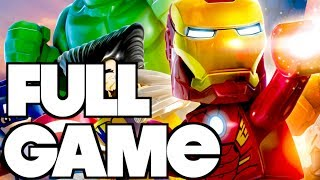LEGO Marvel Super Heroes FULL GAME Complete Gameplay