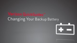 How To Change Your Backup Battery And Fix FiOS Battery
