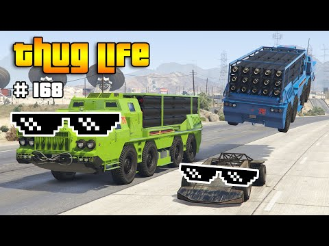 GTA 5 THUG LIFE AND FUNNY MOMENTS (Wins, Stunts and Fails #168)