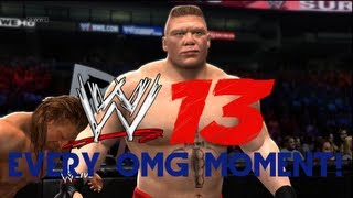 WWE 13 How To Perform Every OMG Moment (Spectacular