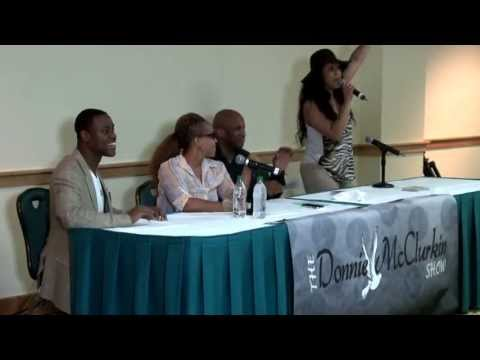 Erica Campbell talks about her single & sings it live