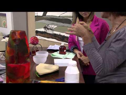 Mulher.com 28/05/2013 Rosely Ferraiol - Arte com filtro de café Parte 1/2
