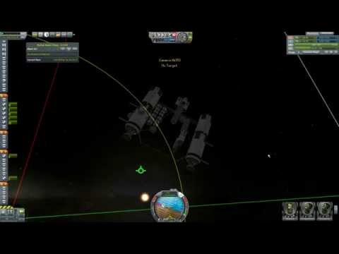 How I Do It: Docking With The NavHud Mod - Kerbal Space Program