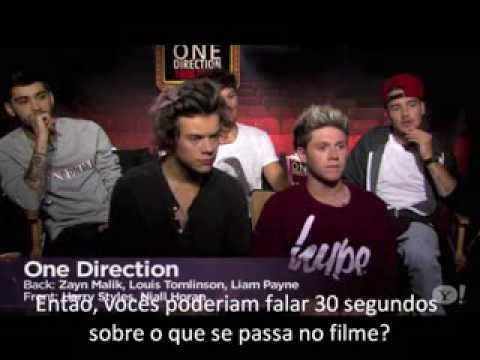 One Direction This Is Us interview inside access LEGENDADO