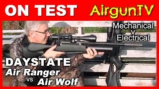 Video Daystate Air Wolf V Air Ranger Tactical Air Rifle Shoot