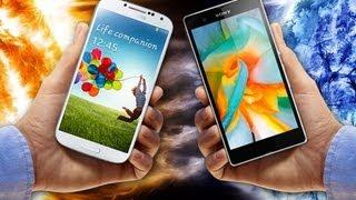 Sony Xperia Z1 Vs Samsung Galaxy S4 I9505 Videotesty.pl